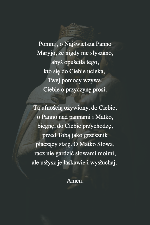 Modlitwa sw. Bernarda