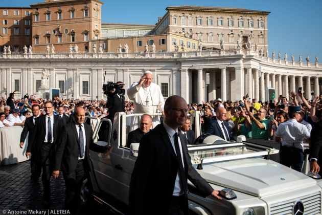 POPE AUDIENCE SEPTEMBER 18