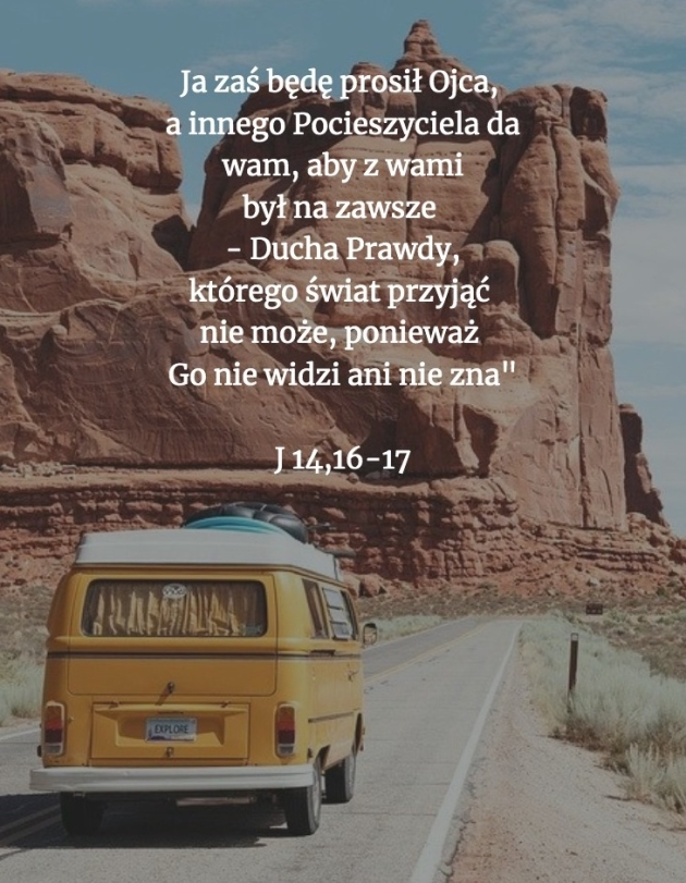 Cytat z Biblii [J 14, 10-17]