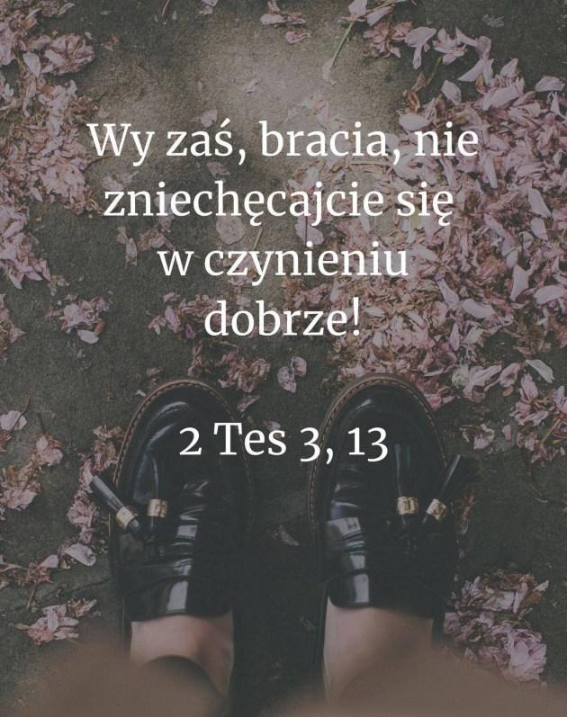 2 Tes 3, 13